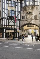 UK, England, London, Alley among buildings