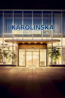 Sweden, Stockholm, Entrance to Karolinska University Hospital 11090016461| 写真素材・ストックフォト・画像・イラスト素材|アマナイメージズ