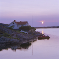 Sweden, Bohuslan, Kungshamn, West Coast, Summer evening