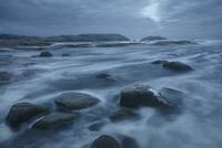 Sweden, West Coast, Bohuslan, Grebbestad, Tjurpannan Nature reserve, Storm over coast 11090016867| 写真素材・ストックフォト・画像・イラスト素材|アマナイメージズ