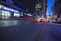 USA, New York State, New York City, Traffic in 48th street