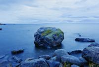 Finland, Mustasaari, Klobbskat, Rock formations in Baltic Sea 11090018796  写真素材・ストックフォト・画像・イラスト素材 アマナイメージズ