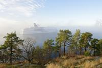 Sweden, Uppland, Stockholm, Passenger craft on Baltic Sea 11090019943  写真素材・ストックフォト・画像・イラスト素材 アマナイメージズ