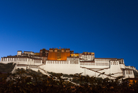 The Potala Palace in Tibet, China