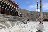 Drepung Monastery in Tibet, China