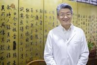 Portrait of senior Chinese doctor