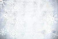 Silver snow flake pattern design