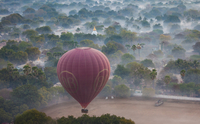 Hot-air balloon, Bagan, Myanmar