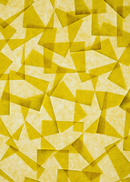 Post it notes arranged overlapping, above a light source. 11093002498| 写真素材・ストックフォト・画像・イラスト素材|アマナイメージズ