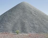 Gravel pile in desert, near Wendover, Utah 11093013370| 写真素材・ストックフォト・画像・イラスト素材|アマナイメージズ