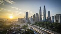 High rise buildings in downtown Kuala Lumpur. 11093014648| 写真素材・ストックフォト・画像・イラスト素材|アマナイメージズ