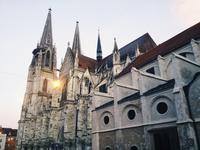 Regensburg Cathedral of St. Peter, Regensburg, Regensburg, Bavaria, Germany, UNESCO world heritage