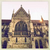 Regensburg Cathedral of St. Peter, side portals, Regensburg, Bavaria, Germany, UNESCO world heritage