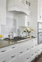 Contemporary kitchen stove