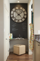 Small cubbyhole in contemporary home 11096027181| 写真素材・ストックフォト・画像・イラスト素材|アマナイメージズ
