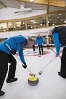 Senior men curling