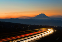 Highway and Mt.Fuji