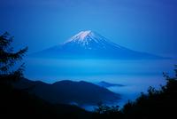 Mt.Fuji over the sea of cloud