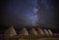 Stars over Historic Ward Charcoal ovens