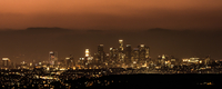 Hazy Los Angeles Skyline