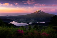 Fuji in the first light