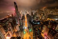 Hong-Kong Wooloomooloo Bar rooftop