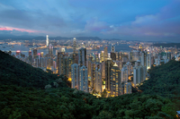 Hong Kong from Sky Terrace 428 at Victoria Peak