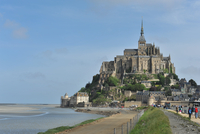 Monastery on Mont Saint Michel, Normandy, France