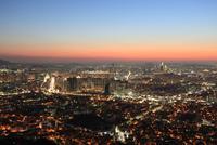 Beautiful Sunset at N Seoul Tower, Seoul, South Korea