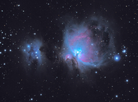 Nebula on dark sky 11098015929| 写真素材・ストックフォト・画像・イラスト素材|アマナイメージズ