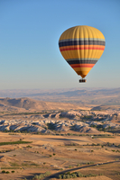 Hot air balloon, Cappadocia, Anatolia, Turkey
