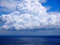 Clouds over ocean, Zanzibar, Tanzania
