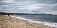 Carrickalinga Beach in winter, Australia