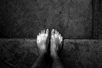 Man foot