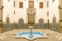 Interior of medina, Marrakesh, Morocco