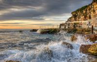 Sunrise over Bronte Beach, Sydney, Australia