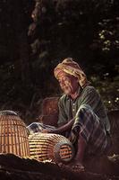 Fish trap maker, Jitra, Kedah, Malaysia