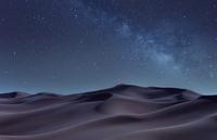 Desert at night, Sharjah, United Arab Emirates