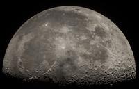Close-up of moon, Moon