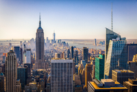 Empire State Building and Manhattan cityscape, New York, USA