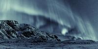 Aurora borealis over Greenland, Sisimiut, Greenland, Denmark