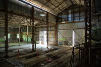 Abandoned factory, Adelaide, South Australia, Australia