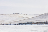 Frozen Baikal, Olkhon, Siberia, Russia