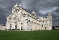 Pisa Cathedral with the Leaning Tower of Pisa, Pisa, Tuscany, Italy