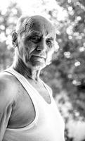 Portrait of senior man, Ukraine