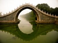 Bridge over water, Beijing, China
