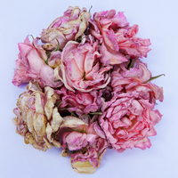 Bouquet of dried pink flowers