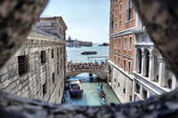Ponte dei Sospiri, Bridge of Sighs, Venice, Italy