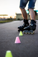 Roller skater, Chisinau, Moldova