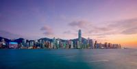 Sunset, Hong Kong, China